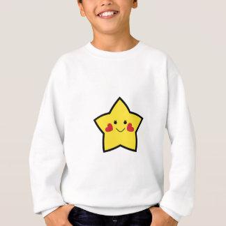 Estrella feliz sudadera