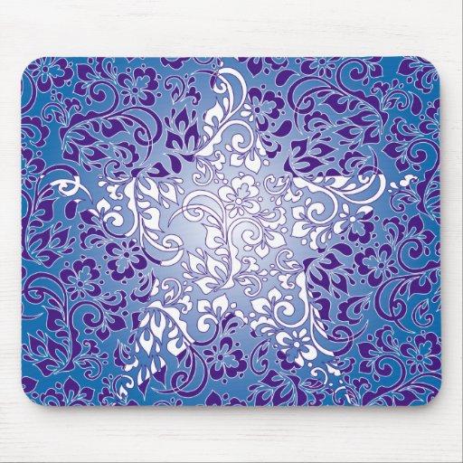 estrella floral mouse pad