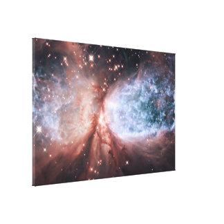 Estrella-Formación de la región S106 Lienzo Envuelto Para Galerias