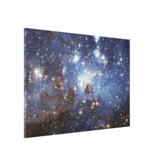 Estrella-Formación de LH 95 de la región en el Lona Envuelta Para Galerías