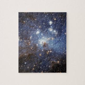 Estrella-Formación de LH 95 de la región Rompecabezas