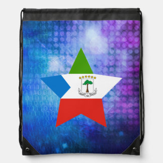 Estrella fresca de la bandera de la Guinea Mochila
