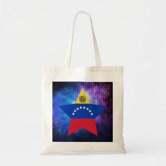 Estrella fresca de la bandera de Venezuela Bolsa Tela Barata