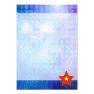 """Estrella fresca de la bandera de Vietnam Invitación 5"""" X 7"""""""