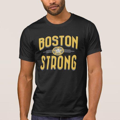 Estrella fuerte de Boston Deco Playeras
