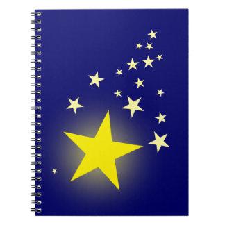 Estrella fugaz cuadernos