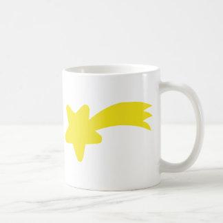 Estrella fugaz tazas de café