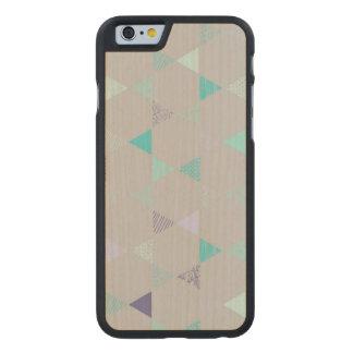 Estrella Funda De iPhone 6 Carved® Slim De Arce