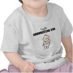Estrella futura de Armwrestling (bebé) Camiseta