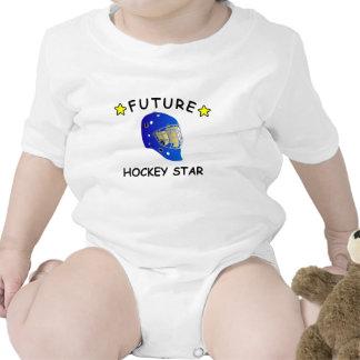 Estrella futura del hockey camiseta
