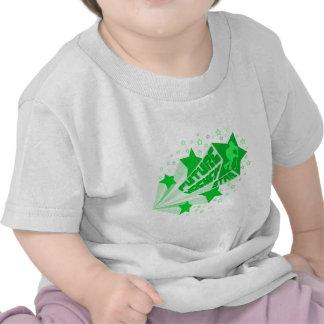 Estrella futura del hockey (verde) camiseta