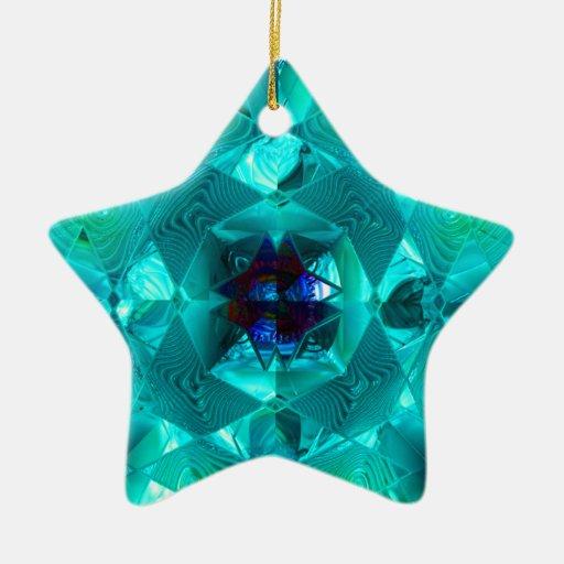 Estrella futurista del navidad de Chrystal X8 1-H Ornamentos Para Reyes Magos