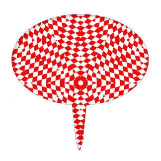 estrella grande roja blanca roja
