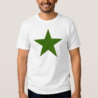 Estrella GreenDark los regalos de Zazzle del MUSEO Poleras