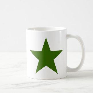 Estrella GreenDark los regalos de Zazzle del MUSEO Taza