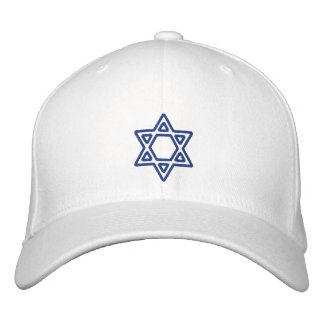 Estrella hebrea de encargo del KRW del casquillo Gorra Bordada