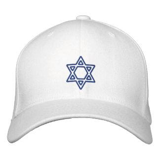 Estrella hebrea de encargo del KRW del casquillo Gorras De Béisbol Bordadas