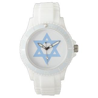 Estrella hermosa del reloj de David