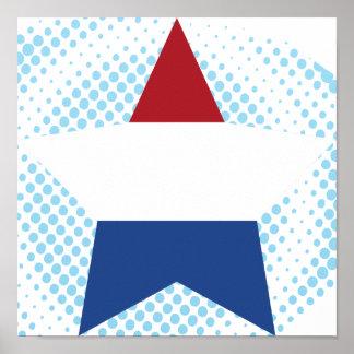 Estrella holandesa poster
