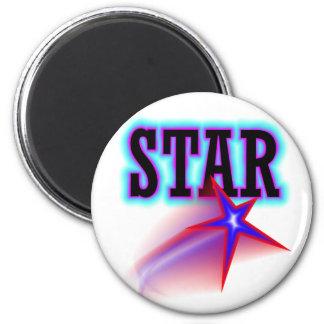 Estrella Imán Redondo 5 Cm