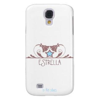 Estrella in White Samsung Galaxy S4 Case