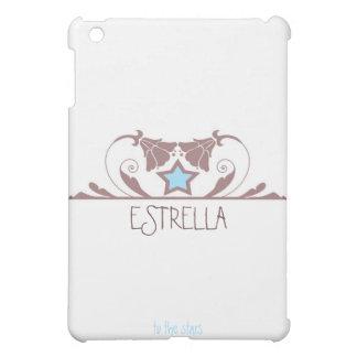 Estrella in White iPad Mini Cover