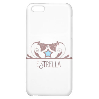 Estrella in White iPhone 5C Cases