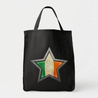 Estrella irlandesa de la bandera bolsas