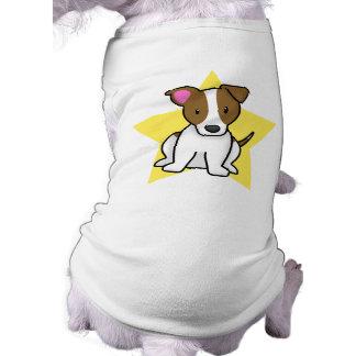 Estrella Jack Russell Terrier de Kawaii Playera Sin Mangas Para Perro