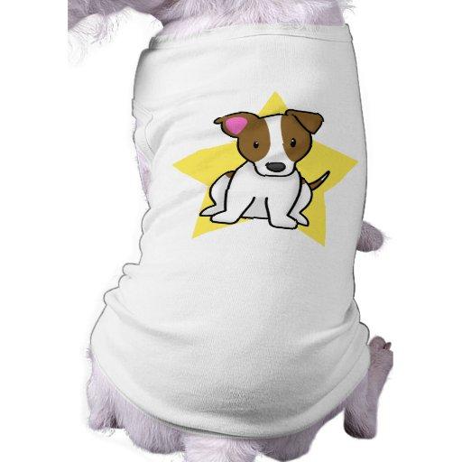 Estrella Jack Russell Terrier de Kawaii Camisas De Perritos