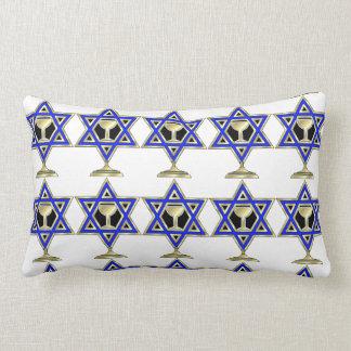 Estrella judía almohada