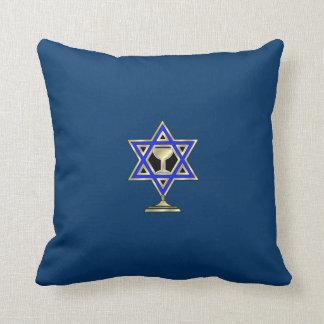 Estrella judía cojín