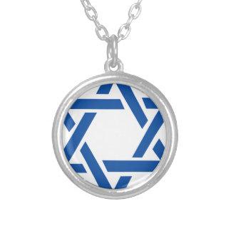 Estrella judía del azul de David Joyerias Personalizadas