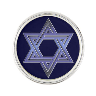 Estrella judía del símbolo de David Pin