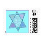 Estrella judía multicolora