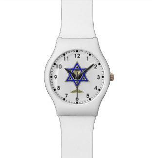 Estrella judía reloj