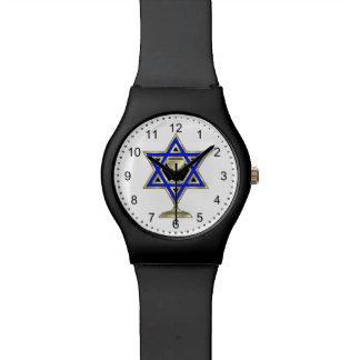 Estrella judía relojes