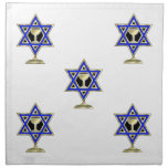 Estrella judía servilleta