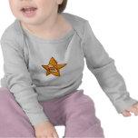 estrella linda del dibujo animado camiseta