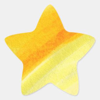 estrella linda estupenda pegatina en forma de estrella