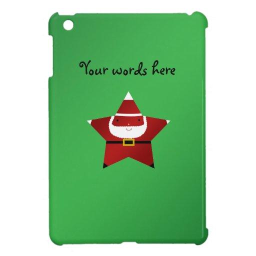 Estrella linda Papá Noel iPad Mini Cobertura