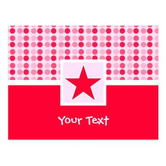 Estrella linda tarjeta postal