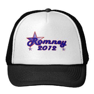 Estrella lisa de Romney 2012 Gorras