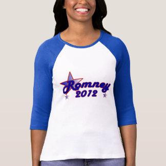 Estrella lisa de Romney 2012 Playera