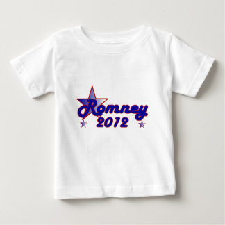 Estrella lisa de Romney 2012 Playera De Bebé