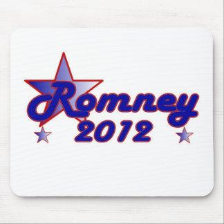Estrella lisa de Romney 2012 Alfombrilla De Ratón