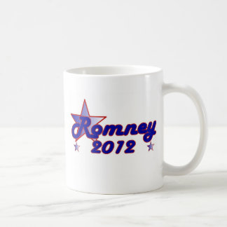 Estrella lisa de Romney 2012 Taza De Café