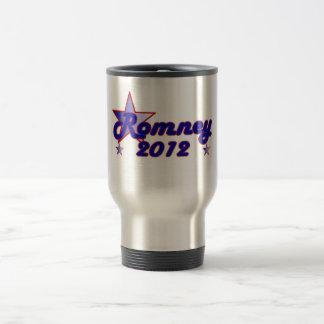 Estrella lisa de Romney 2012 Taza De Viaje