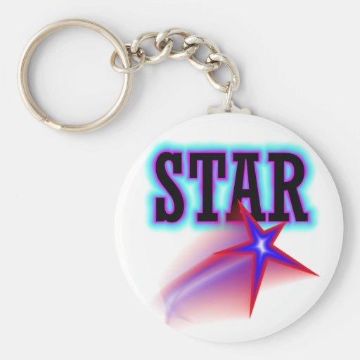 Estrella Llaveros Personalizados