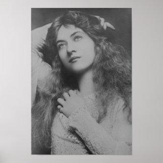 Estrella Maude Fealy de la película muda Póster